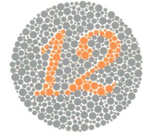test daltonismo lamina 1